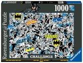 Ravensburger 16513 - Challenge Batman, Puzzle, 1000 Teile