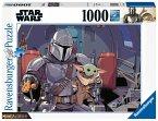 Ravensburger 16565 - Star Wars, The Mandalorian, Puzzle, 1000 Teile