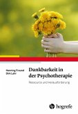 Dankbarkeit in der Psychotherapie (eBook, PDF)