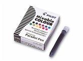 PILOT Tintenpatrone für Füller Parallel Pen farbig, 12er