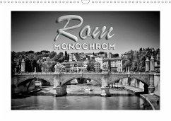 ROM Monochrom (Wandkalender 2021 DIN A3 quer)