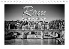 ROM Monochrom (Tischkalender 2021 DIN A5 quer)