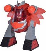 Simba 109402465 PJ Masks Turbo Roboter Eulette, mit Licht, mit 2 Kanonen, 23cm
