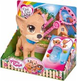 Simba 105893460 - Chi Chi Love Pii Pii Puppy, Hund zum Gassi gehen