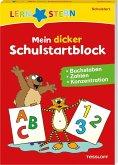 LERNSTERN Mein dicker Schulstartblock. Buchstaben, Zahlen, Konzentration