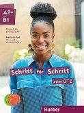 Schritt für Schritt zum DTZ - Medienpaket, 3 Audio-CDs zum Kurs- und Arbeitsbuch