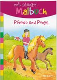 Mein schönstes Malbuch. Pferde und Ponys. Malen für Kinder ab 5 Jahren