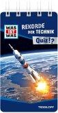 WAS IST WAS Quiz Rekorde der Technik. Über 100 Fragen und Antworten! Mit Spielanleitung und Punktewertung