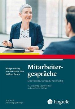 Mitarbeitergespräche (eBook, ePUB) - Hossiep, Rüdiger; Zens, Jennifer; Berndt, Wolfram