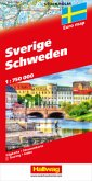 Schweden Strassenkarte 1:750'000