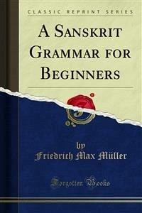 A Sanskrit Grammar for Beginners (eBook, PDF)