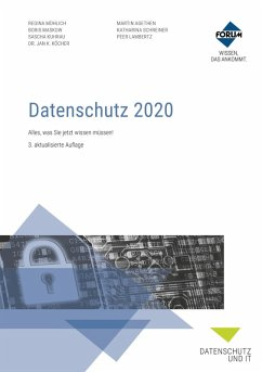 Datenschutz 2020