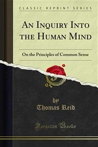 An Inquiry Into the Human Mind (eBook, PDF)