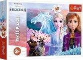 Trefl 18253 - Disney, Frozen 2, Die Eisprinzessin, Puzzle, 30 Teile