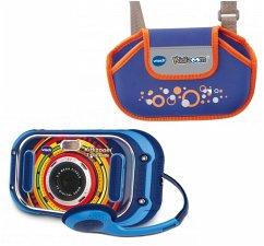 VTech Kidizoom Touch 5.0 blau + Tasche