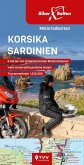 Motorradkarten Set Korsika Sardinien