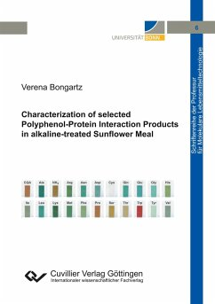 Characterization of selected Polyphenol-Protein Interaction Products in alkaline-treated Sunflower Meal - Bongartz, Verena