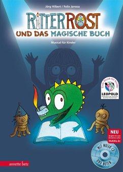 Ritter Rost und das magische Buch / Ritter Rost Bd.19 mit Audio-CD - Hilbert, Jörg; Janosa, Felix