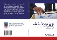 Genetic Studies on Semen Production in Jersey and HF Crossbred Bulls