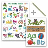 Das bunte Kinder-ABC - Set in Druckschrift