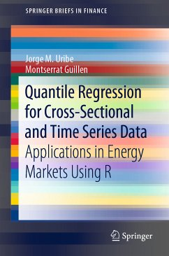 Quantile Regression for Cross-Sectional and Time Series Data (eBook, PDF) - Guillen, Montserrat; Uribe, Jorge M.