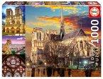 Carletto 9218456 - Educa, Notre Dame Collage, Puzzle, 1000 Teile