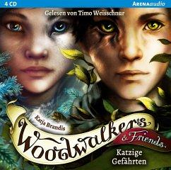 Katzige Gefährten / Woodwalkers & Friends Bd.1 (4 Audio-CDs) - Brandis, Katja