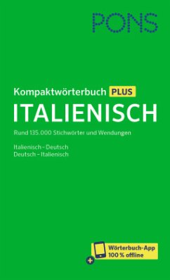 PONS Kompaktwörterbuch Plus Italienisch