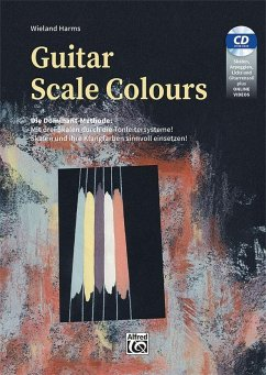 Guitar Scale Colours, m. 1 Audio-CD + Oline-Videos - Harms, Wieland