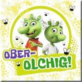 """Die Olchis Magnet """"Ober-olchig"""""""