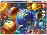 Carletto 9218449 - Educa, Solar System, Sonnensystem, Puzzle, 500 Teile