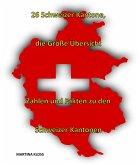 26 Schweizer Kantone - die große Übersicht (eBook, ePUB)