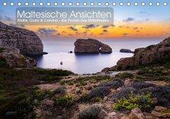 Maltesische Ansichten (Tischkalender 2021 DIN A5 quer)