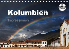 Kolumbien Impressionen (Tischkalender 2021 DIN A5 quer) - boeTtchEr, U