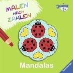 Malen nach Zahlen junior: Mandalas (Mängelexemplar)