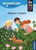 Die drei !!!, Bücherhelden 2. Klasse, Rehkitz in Gefahr (drei Ausrufezeichen) (eBook, PDF)