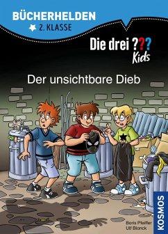 Die drei ??? Kids, Bücherhelden 2. Klasse, Der unsichtbare Dieb (drei Fragezeichen Kids) (eBook, PDF) - Pfeiffer, Boris; Blanck, Ulf
