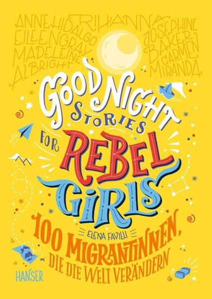Buch-Reihe Good Night Stories for Rebel Girls