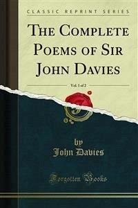 The Complete Poems of Sir John Davies (eBook, PDF)