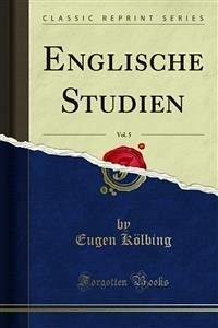 Englische Studien (eBook, PDF)
