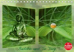 Buddha und Yin Yang (Tischkalender 2021 DIN A5 quer)