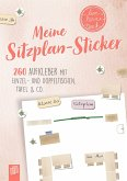 """Meine Sitzplansticker """"live - love - teach"""""""