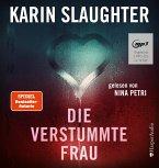 Die verstummte Frau / Georgia Bd.8 (Audio-CD)