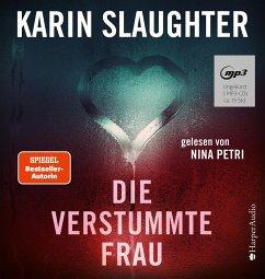Die verstummte Frau / Georgia Bd.8 (Audio-CD) - Slaughter, Karin
