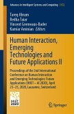 Human Interaction, Emerging Technologies and Future Applications II (eBook, PDF)