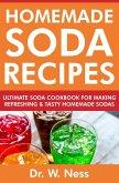 Homemade Soda Recipes: Ultimate Soda Cookbook for Making Refreshing & Tasty Homemade Sodas (eBook, ePUB)