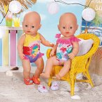 Zapf Creation® 828281 - BABY born Holiday Badeanzug, Puppenbekleidung, 43cm