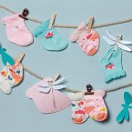 Zapf Creation® 703113 - Baby Annabell Socken 2er-Pack, Puppenbekleidung, 43cm
