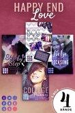 Happy End Love. Vier Young-Adult-Liebesromane mit Herzklopfgarantie (Die Aktions-E-Box von Impress!) (eBook, ePUB)