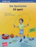 Die Sportarten. Kinderbuch Deutsch-Italienisch
